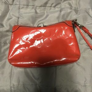 Red Coach Clutch!